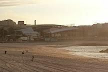 Playa de Riazor, La Coruna, Spain