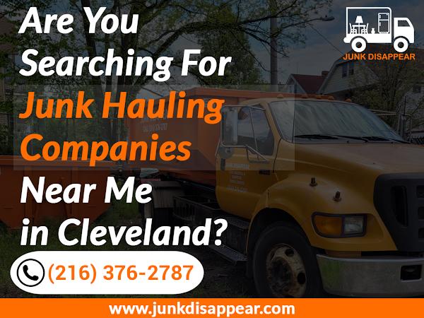 Junk Haulers Cleveland Junk Disappear