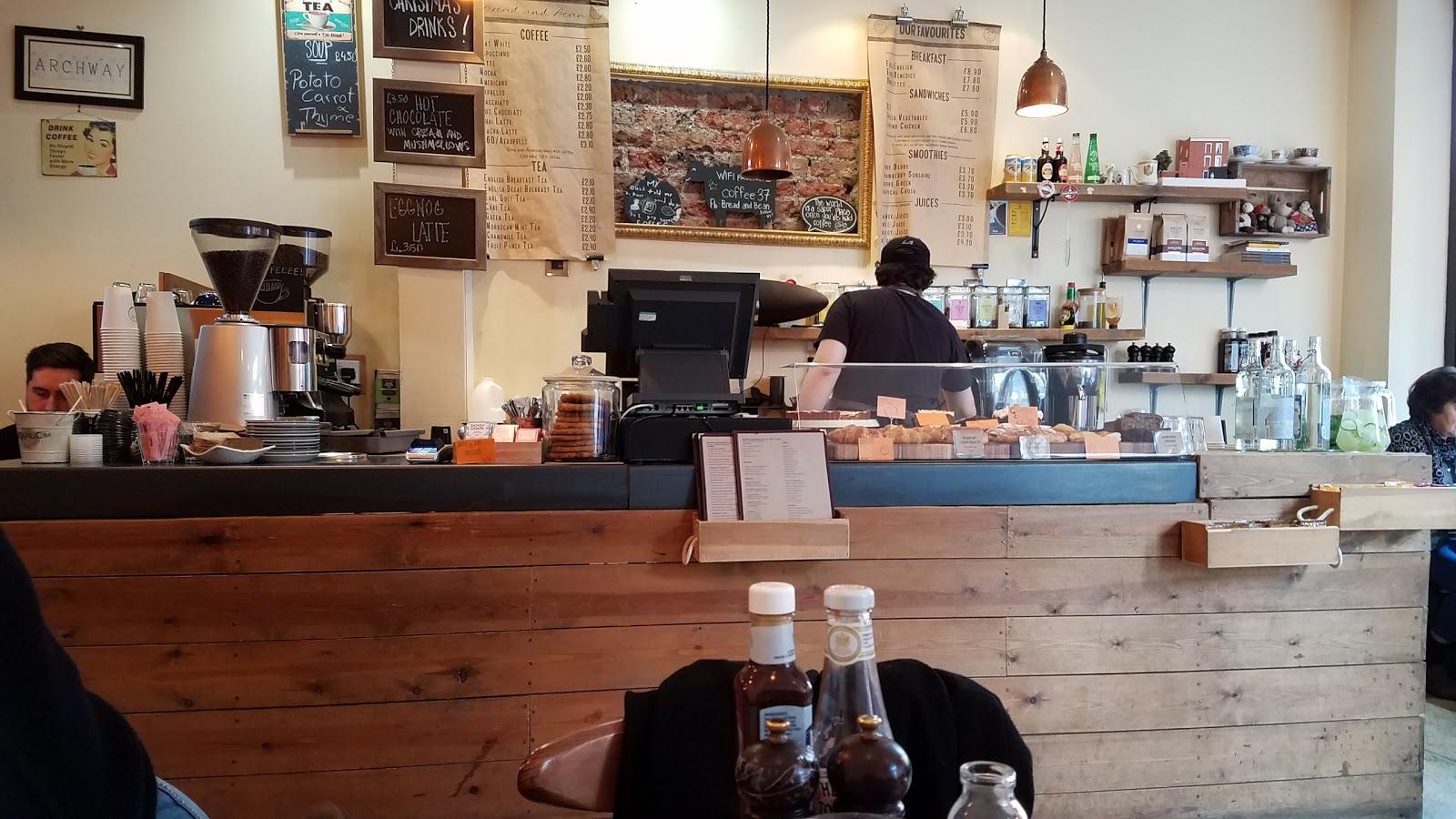 Bread & Bean: A Work-Friendly Place in London