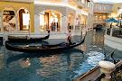 Gondola Rides at the Venetian