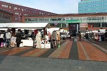 Bos en Lommerplein Markt, Amsterdam, The Netherlands