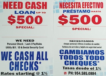 CHECK CASHING & LOANS Payday Loans Picture