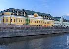 Московский Английский Клуб, Болотная улица, дом 10 на фото Москвы