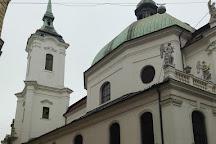 The Church of St. John, Brno, Czech Republic