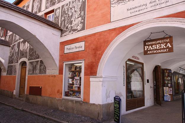 Knihkupectví – Antikvariát Paseka