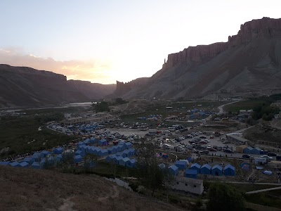 Band-e Amir Camping Area and Parking