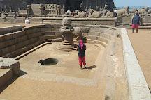 Mahishasura Rock, Mahabalipuram, India