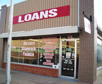 Western-Shamrock Finance Payday Loans Picture