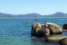Piscinas Naturais Barra da Lagoa, Florianopolis, Brazil