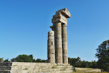 The Acropolis of Rhodes, Rhodes Town, Greece
