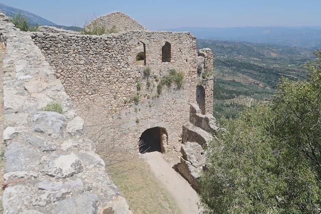 Κάστρο του Βιλχαρντουίν- Μυστράς-Villehardouin's Castle