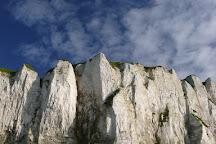 Vue panoramique, Le Treport, France