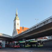 Станция  Bratislava BratislavaMost SNP
