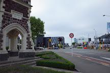 Victoria Street Clock Tower, Christchurch, New Zealand
