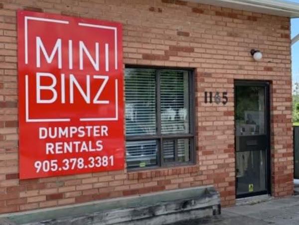 Mini Binz Dumpster Rentals