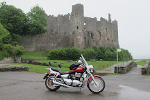 Laugharne Castle, Carmarthen, United Kingdom