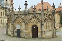 Gothic Stone Fountain, Kutna Hora, Czech Republic