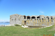 Fort Popham State Historic Site, Phippsburg, United States