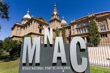 Carrer del Mirador del Palau Nacional, Barcelona, Spain