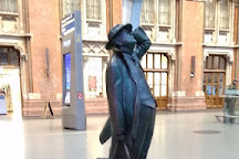 Sir John Betjeman Statue, London, United Kingdom