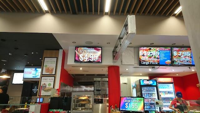 CREO! Pizza, Burger & Grill