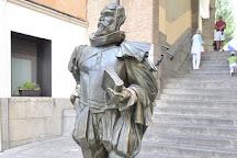 The Statue of Miguel de Cervantes, Toledo, Spain