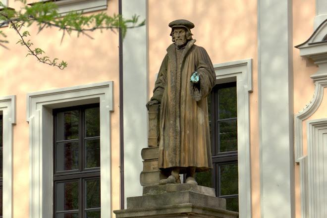 Melanchthon Denkmal, Nuremberg, Germany