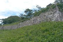 The ruins of Murakami castle, Murakami, Japan