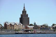 Spikeri, Riga, Latvia
