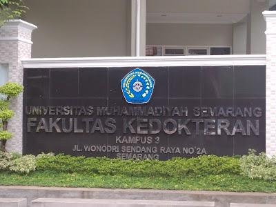 Fakultas Kedokteran Universitas Muhammadiyah Semarang(UNIMUS)