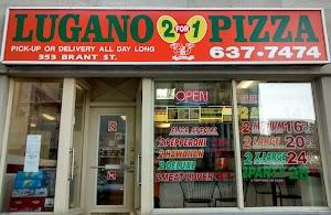 Lugano 2 For 1 Pizza