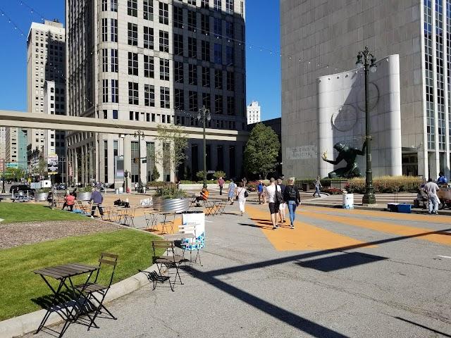 Spirit of Detroit Plaza