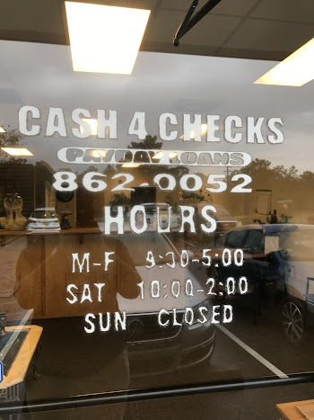 Cash 4 Checks Payday Loans Picture
