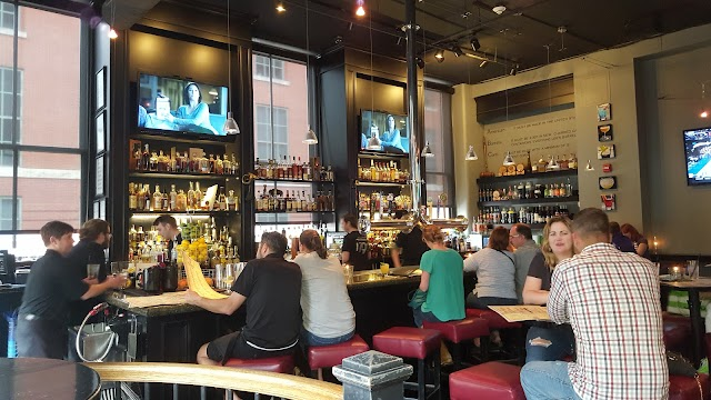 Side Bar at Whiskey Row