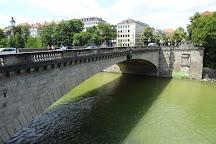 Luitpoldbrucke, Munich, Germany