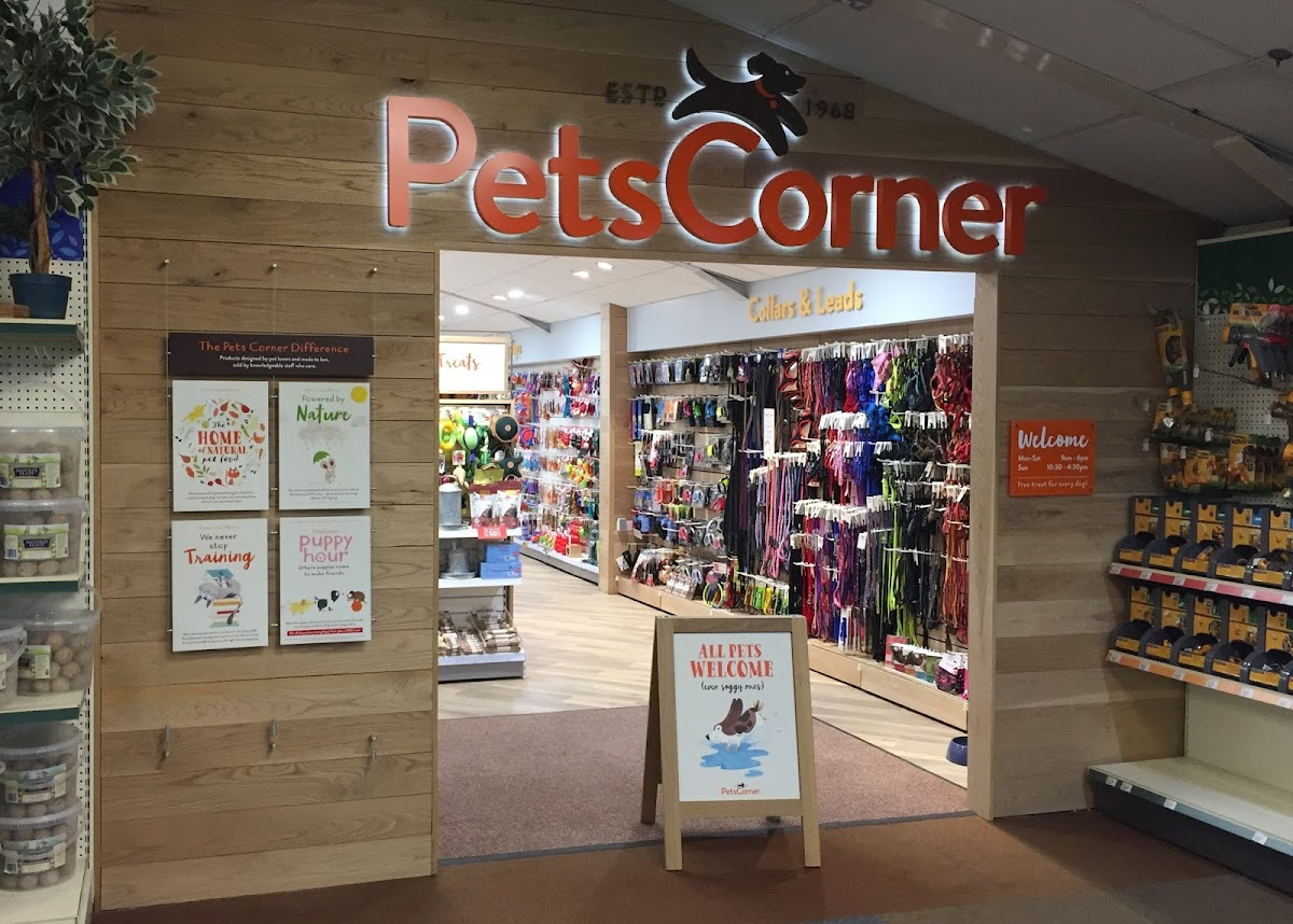 Pets Corner Shelley store