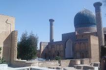 Statue of Amir Temur, Samarkand, Uzbekistan