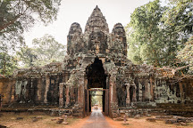 The Victory Gate, Siem Reap, Cambodia
