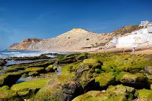 Burgau Beach, Burgau, Portugal
