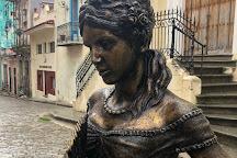Escultura de Cecilia Valdes, Havana, Cuba