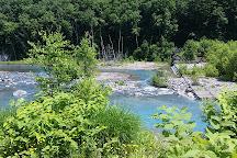 Shirogane Blue Pond, Biei-cho, Japan