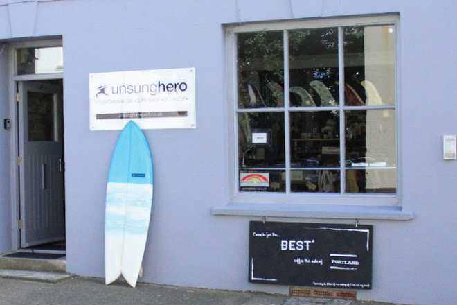 Unsunghero Surf Shop, St. Davids, United Kingdom