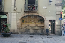 Fuente de la Portaferrissa, Barcelona, Spain