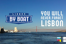Lisbon by Boat, Lisbon, Portugal