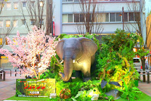 Okachimachi Panda Hiroba, Ueno, Japan