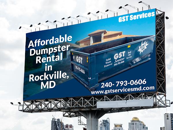 Dumpster Rental Rockville MD - GST Services