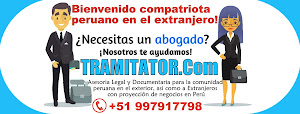 TRAMITATOR.Com - Asesoria Legal y Documentaria para Peruanos en el Extranjero / Trámites a Perú 1