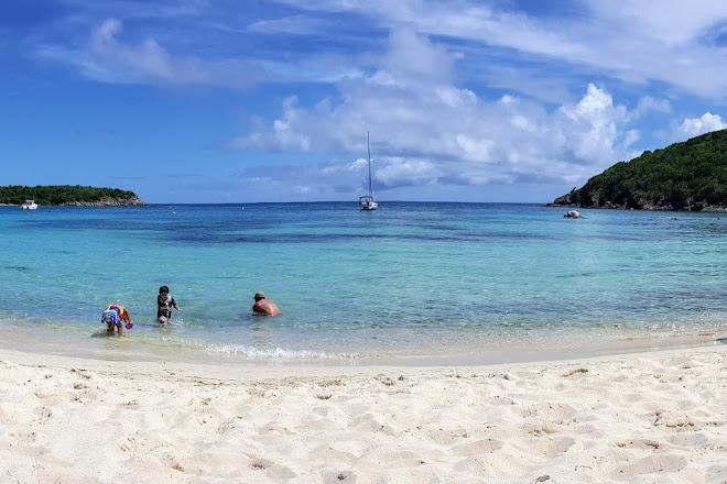 Little Lameshur Bay, Virgin Islands National Park, U.S. Virgin Islands