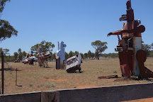 Utes In The Paddock, Ootha, Australia