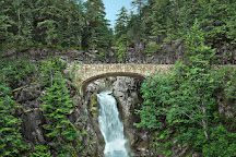 Christine Falls Viewpoint, Mount Rainier National Park, United States